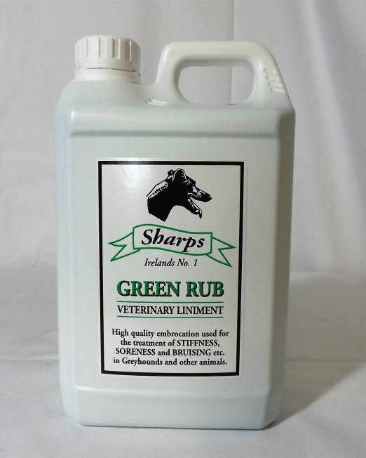 sharp green rub 2l